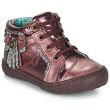 Sapatos Rapariga Botas baixas Catimini RHUBARBE Bordô
