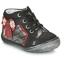Sapatos Rapariga Botas baixas Catimini RHUBARBE Branco / multicolor