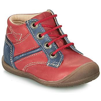 Sapatos Rapaz Botas baixas Catimini RATON Vermelho / Marinho