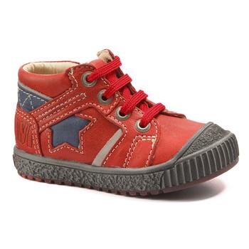 Sapatos Rapaz Botas baixas Catimini RENARD Rosa - marinho