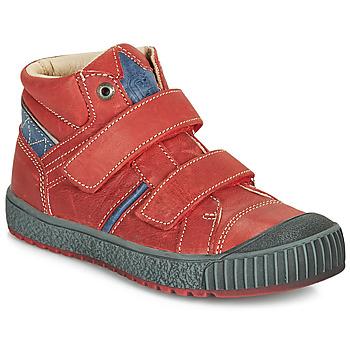 Sapatos Rapaz Sapatilhas de cano-alto Catimini RAIFORT Vermelho