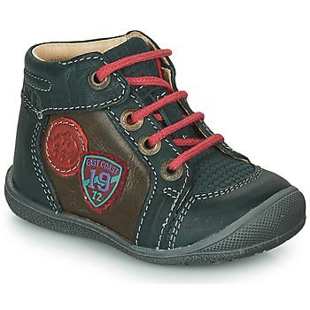 Sapatos Rapaz Botas baixas Catimini REGLISSE Verde / Castanho