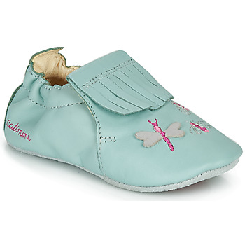 Sapatos Rapariga Chinelos Catimini RHIZINE Verde / Água