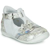 Sapatos Rapariga Sabrinas GBB SELVINA Branco / Prata