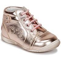 Sapatos Rapariga Sapatilhas GBB SIDONIE Rosa / Dourado