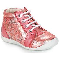 Sapatos Rapariga Botas baixas GBB SIDONIE Black lizard / patent