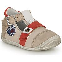Sapatos Rapaz Sandálias GBB STANISLAS Bege-vermelho