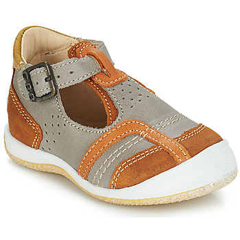 Sapatos Rapaz Sandálias GBB SIGMUND Toupeira / Branco