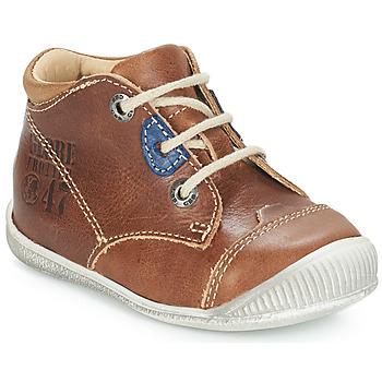 Sapatos Rapaz Botas baixas GBB SAMUEL Fauve