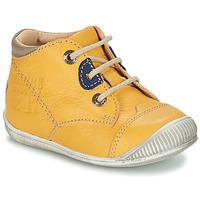 Sapatos Rapaz Botas baixas GBB SAMUEL Amarelo