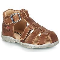 Sapatos Rapaz Sandálias GBB PRIGENT Castanho