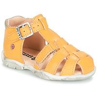 Sapatos Rapaz Sandálias GBB PRIGENT Amarelo