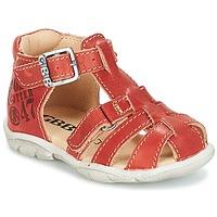 Sapatos Rapaz Sandálias GBB PRIGENT Ferrugem