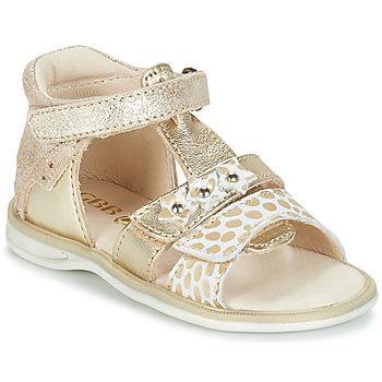 Sapatos Rapariga Sandálias GBB SYLVIE Ouro