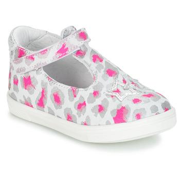 Sapatos Rapariga Sabrinas GBB SABRINA Cinza / Rosa / Branco