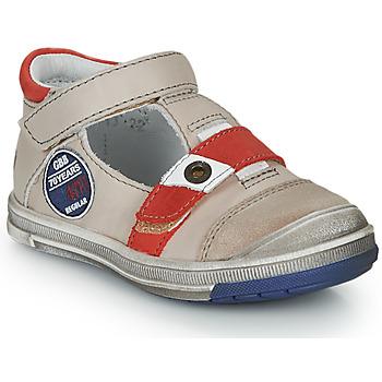 Sapatos Rapaz Sandálias GBB SOREL Bege-vermelho / Flash