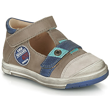 Sapatos Rapaz Sandálias GBB SOREL Toupeira / Azul
