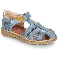 Sapatos Rapaz Sandálias GBB PATERNE Azul
