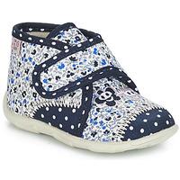 Sapatos Rapariga Chinelos GBB PASCALINE Marinho - florido