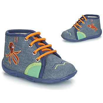 Sapatos Rapaz Chinelos GBB PABLITO Azul