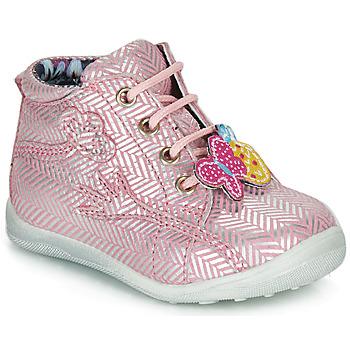 Sapatos Rapariga Botas baixas Catimini SALAMANDRE Rosa - prateado