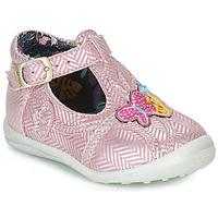 Sapatos Rapariga Botas baixas Catimini SOLEIL Rosa - prateado