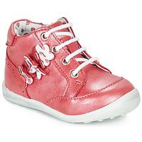 Sapatos Rapariga Botas baixas Catimini SOLDANELLE Vermelho / Nacre