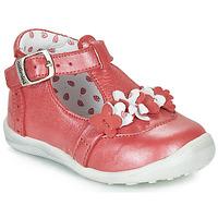 Sapatos Rapariga Botas baixas Catimini SALICORNE Vermelho / Nacre