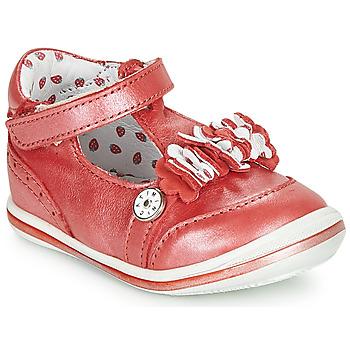 Sapatos Rapariga Sandálias Catimini SANTOLINE Vermelho / Nacre