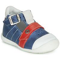 Sapatos Rapaz Sandálias Catimini SESAME Azul / Vermelho