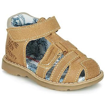 Sapatos Rapaz Sandálias Catimini SYCOMORE Conhaque