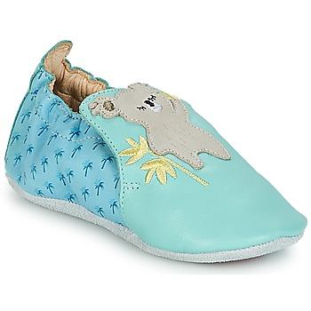 Sapatos Criança Pantufas bebé Catimini SHIVA Azul / Cinza