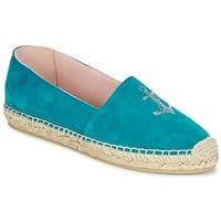Sapatos Mulher Alpargatas Pretty Ballerinas ANGELIS Turquesa