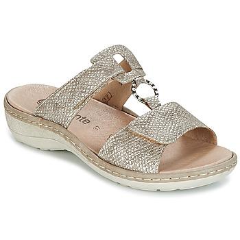 Sapatos Mulher Chinelos Remonte Dorndorf REDMON Dourado