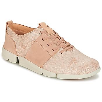 Sapatos Mulher Sapatilhas Clarks TRI CAITLIN Rosa