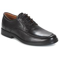 Sapatos Homem Sapatos Clarks UN ALDRIC PARK Preto