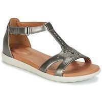 Sapatos Mulher Sandálias Clarks UN REISEL MARA Prata