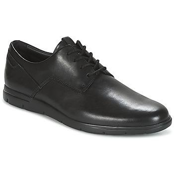 Sapatos Homem Sapatos Clarks VENNOR WALK Preto
