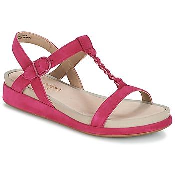 Sapatos Mulher Sandálias Hush puppies CHAIN T Framboesa