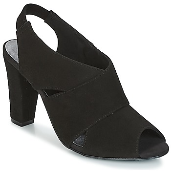 Sapatos Mulher Sandálias KG by Kurt Geiger FOOT-COVERAGE-FLEX-SANDAL-BLACK Preto