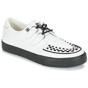 Sapatos Sapatilhas TUK CREEPERS SNEAKERS Branco / Preto