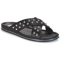 Sapatos Mulher Chinelos Buffalo ALOLAJEP Preto