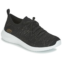 Sapatos Mulher Fitness / Training  Skechers ULTRA FLEX Preto
