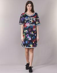 Textil Mulher Vestidos curtos Love Moschino W5A0302 Preto / Multicolor