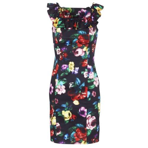 Textil Mulher Vestidos curtos Love Moschino WVG3100 Preto / Multicolor