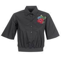 Textil Mulher camisas Love Moschino WCC5401 Preto