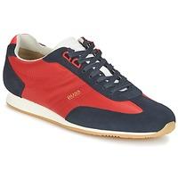 Sapatos Homem Sapatilhas Hugo Boss Orange ORLANDO LOW PROFILE Vermelho / Marinho