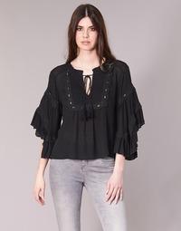 Textil Mulher Tops / Blusas See U Soon 8112057 Preto