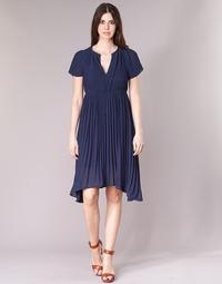 Textil Mulher Vestidos curtos See U Soon 8121119 Marinho