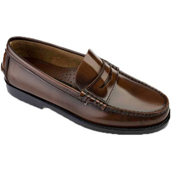 Sapatos Homem Mocassins Edward's Solas de borracha Castellanos  e marrón